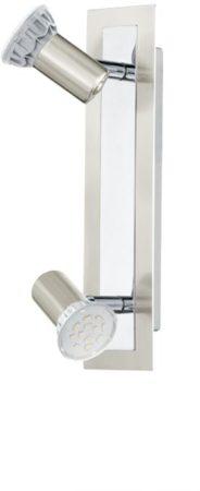 Afbeelding van Roestvrijstalen EGLO Rottelo - Plafondspots - 2 Lichts - Nikkel-Mat, Chroom