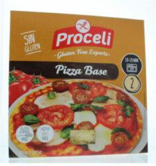 Proceli Pizzabodems Glutenvrij 2 Stuks
