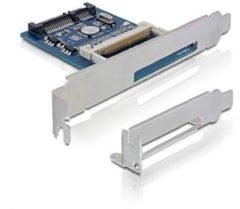 Delock SATA II > Compact Flash Card Reader - CompactFlash-Kartenadapter - Serial ATA-300 91687