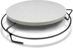 Smokeware Ring Verhoging - RVS - Roosterverhoging - Pizzasteen Verhoging - Ring Pizzasteen - Geschikt voor Bigg groen Egg Large