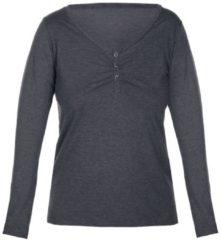 Langarm-Shirt 'MELANGE MIX&MATCH' sassa melange graphite