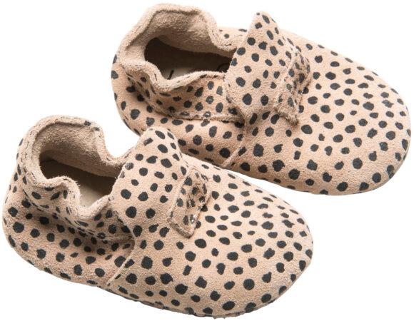 Afbeelding van Mockies First Steps Babyschoentjes Speckle Sand Mt. S