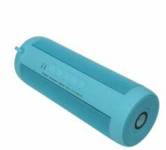 Blauwe DrPhone T2 Pro® – Draagbare Bluetooth Speaker – Bluetooth 5.0 - HD Gesprekken - IP5 Waterdicht – Zaklamp – 10 uur capaciteit – Sky Blue