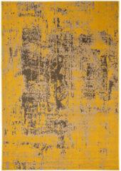 Eazy Living Easy Living - Revive-Rev11 Vloerkleed - 120x170 cm - Rechthoekig - Laagpolig Tapijt - Retro - Bruin, Geel