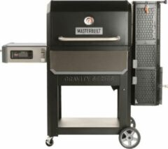 Zwarte Masterbuilt Digitale Houtskool Grill & Smoker Houtskool Barbecue B 155 x D 84 cm