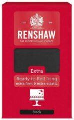 Zwarte Renshaw Rolfondant Extra Black -1kg