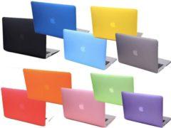 Blauwe Hardshell Cover SmartShell Mat Blauw voor de MacBook Air 11 inch