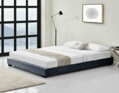 Corium Modern bedframe met bedbodem 140x200 cm donkergrijs
