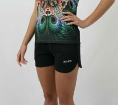 Zwarte Bones Sportswear Dames Short maat XL