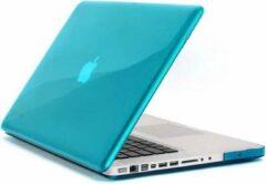 Qatrixx Hard Case Cover Turquoise Blauw voor Macbook Pro 15 inch 2de generatie