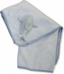 Snuggle Baby Babydeken Dolfijn 75 X 100 Cm Blauw