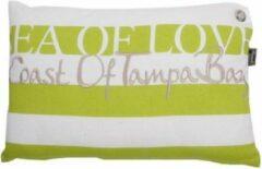 In the Mood Collection Lendekussen Sea of Love 30x45cm Lime groen - 2 stuks