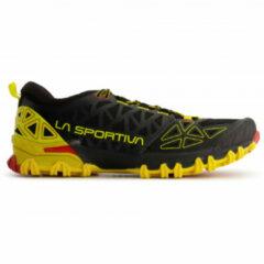 La Sportiva - Bushido II - Trailrunningschoenen maat 45 zwart/oranje/olijfgroen/bruin