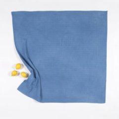 BORO*MINI hydrofiele doek XXL - Indigo blauw uni