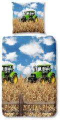 Kinderbettwäsche, Good Morning, »Farmer«, mit Treckermotiv