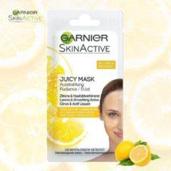 Naturelkleurige Garnier Skinactive Face Anti-dorst Hydraterend Aqua Mask - Juicy Mask