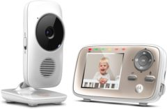 Motorola MBP667 Connect Wifi Babyfoon met camera - 2,8 inch kleurenscherm - terugspreekfuncie - nachtzicht