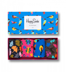 Blauwe Happy Socks - Gift Box 4-pack Sokken, Forest, Maat 41/46