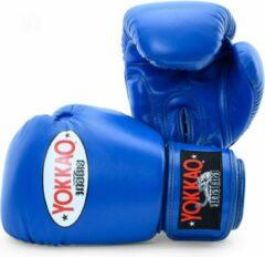 Yokkao Matrix Bokshandschoenen - Leer - Blauw - 16 oz