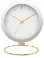 Karlsson Tafelklokken Table clock Globe Design Armando Breeveld Wit