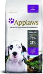 Applaws dog puppy large breed chicken hondenvoer 2 kg