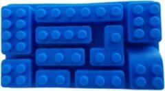 Rode Merkloos CE Bouw Blokjes vorm voor cake en chocolade