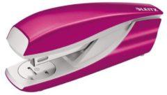 Metalen nietjesmachine Leitz Nexxt - nietjes 26/6 en 24/6 capaciteit 30 bladzijden roze