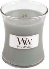Grijze WoodWick Mini candle Fireside 2 stuks