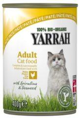 Yarrah - Natvoer Kat Blik met Kip Bio - 12 x 400 g