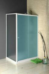 Aqualine Amadeo zijwand voor douchecabine 90x185cm wit