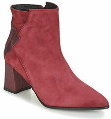 Bordeauxrode Boots en enkellaarsjes Dhexter 745 by Elizabeth Stuart