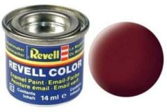 Revell #37 Reddish Brown (Dakpanrood) - Matt - RAL3009 - Enamel - 14ml Verf potje