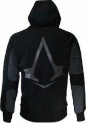Difuzed Assassin's Creed Syndicate Parkour Hoodie Vest met Capuchon Grijs/Zwart/Goud N.v.t. Heren Sweatvest Maat XL