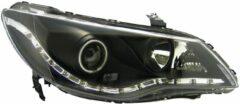 Set koplampen DRL-Look passend voor Honda Civic Sedan (Hybrid) 2005-2008 - Zwart