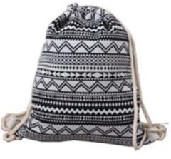 Trainingsrucksack Backpack Gym Bag Hipster Fashion HTI-Living Retro Streifen