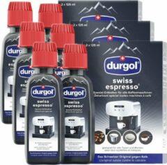 Zwarte Durgol Swiss Espresso Ontkalker - 3 Verpakkingen = 6 Stuks