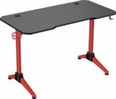 VDD Gaming Game bureau Thomas - computerbureau - computertafel - zwart rood