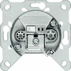 Hirschmann Multimedia Antenne Wandcontactdoos (Uiteinde) - Zilver 1.8 DB