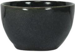 HEMA Schaal - 10 Cm - Porto - Reactief Glazuur - Zwart (zwart)