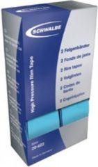 """Schwalbe 11874310 28"""" High-Pressure-Felgenband, 14-622, blau (1 Paar)"""