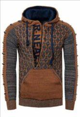 Bruine Rusty Neal Trui hoodie - 13362
