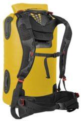 Groene Sea to Summit - Hydraulic Dry Bag with Harness - Drybags - Waterdichte rugzak - 90L - Geel