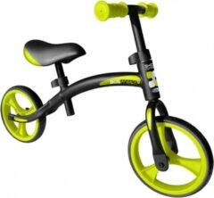 Skids Control Loopfiets Loopfiets Met 2 Wielen 10 Inch Junior Zwart/groen