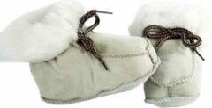 Bernardino® - Baby slofjes - Beige - Unisex - Maat 19