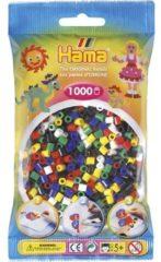 Witte Hama 207-66 kabelbeschermer Kralenmix Multi kleuren 1000 stuk(s)