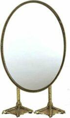 Kelvi Staande spiegel op pootjes Goud
