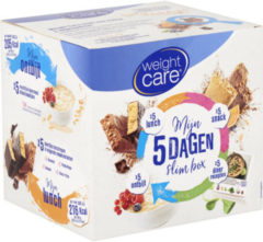 Weight Care 5 Dagen Slimbox Afslankpakket 1 set