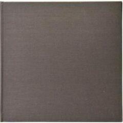 Henzo MIKA linnen album 24.5x25 50 witte pag. grijs 11.305.18