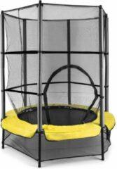 Klarfit Rocketkid trampoline 140cm veiligheidsnet binnen, bungeevering