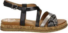 Marco Tozzi dames sandaal - Zwart - Maat 40